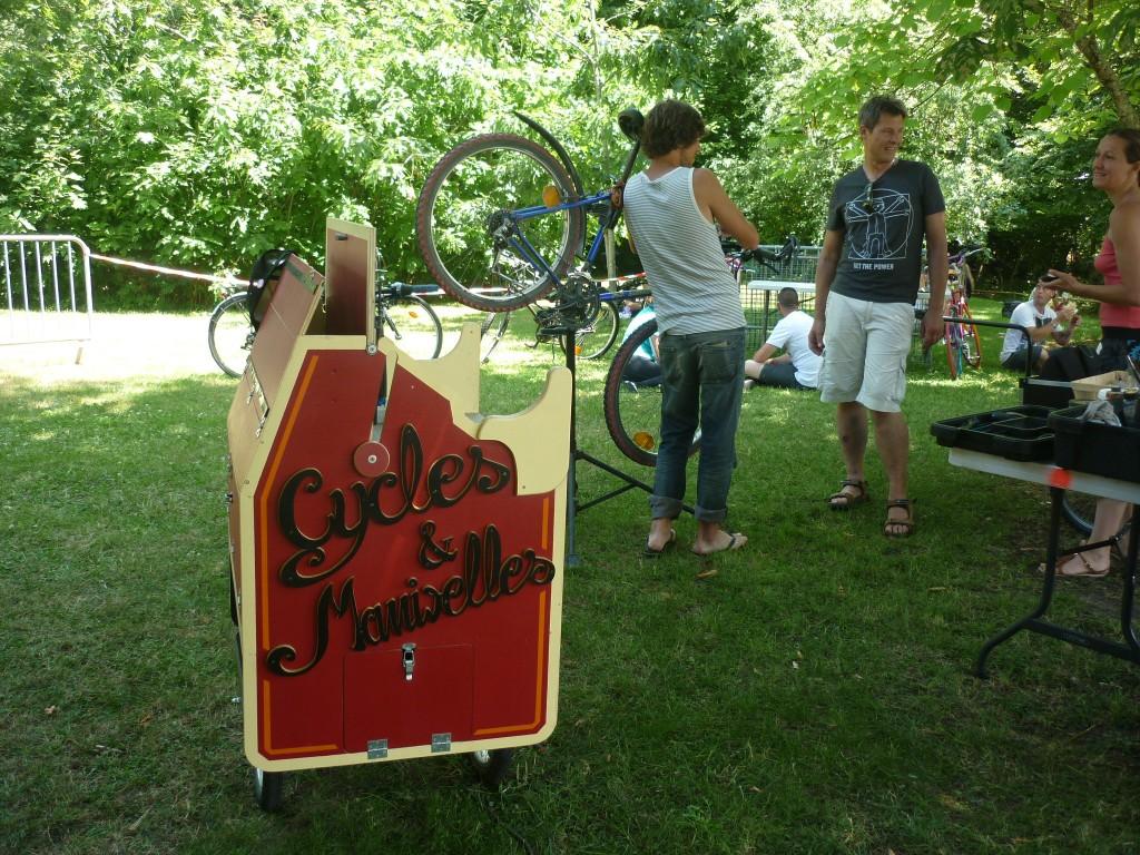 atelier mobile cycles et manivelles
