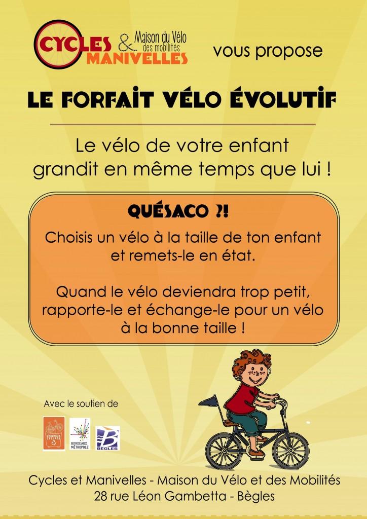 forfait vélo enfant