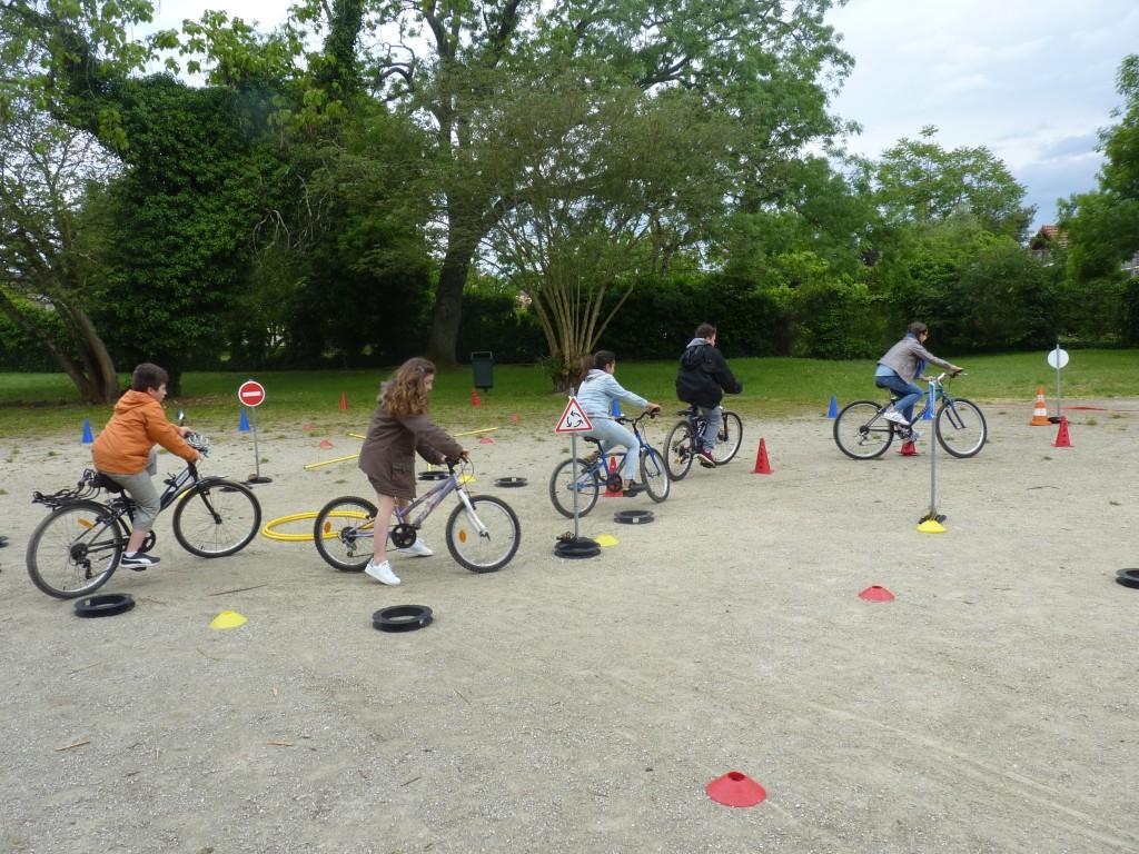 vélo école Buisson