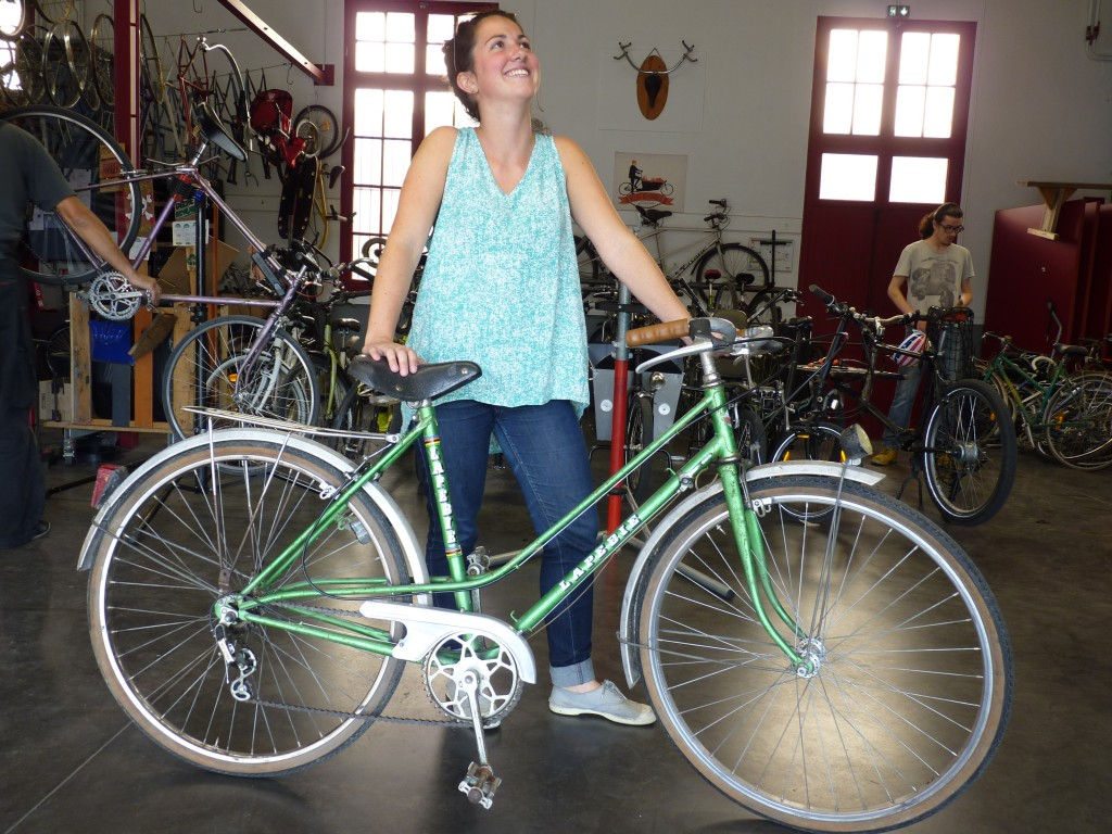 vélo après