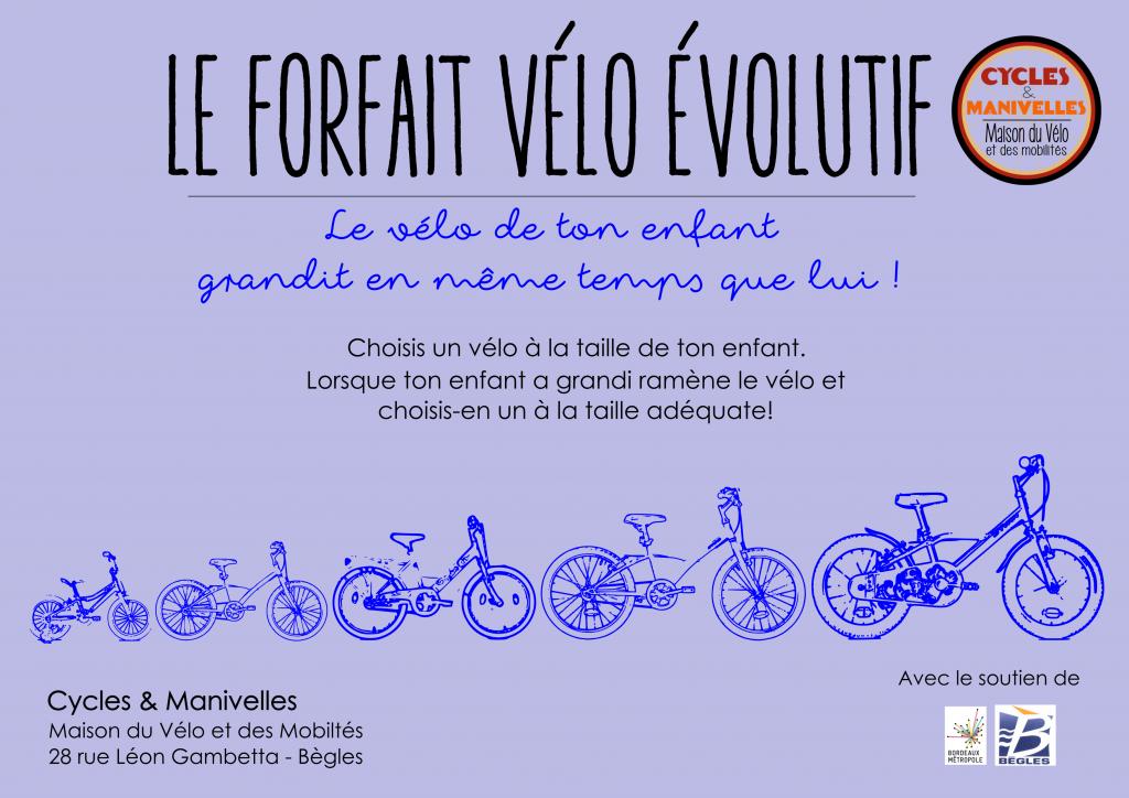 vélo évolutif