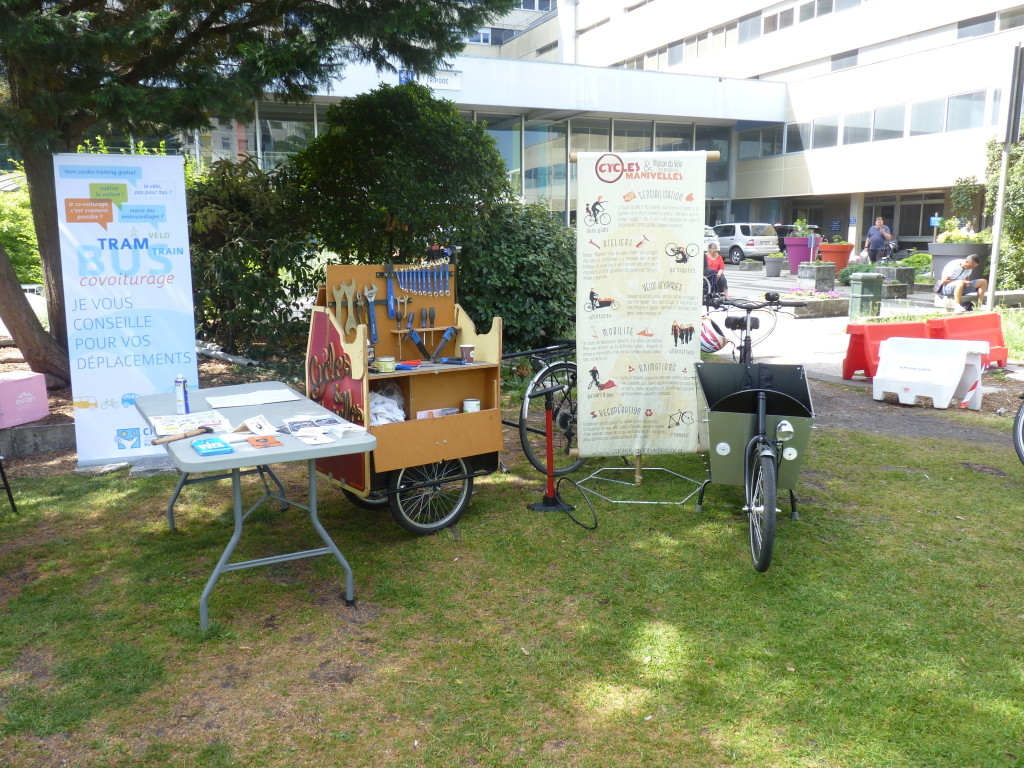 intervention cycles et manivelles