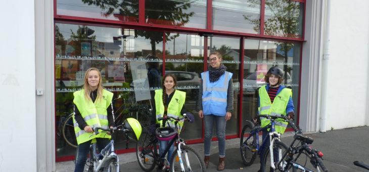 Stage vélo jeunes : Apprendre à se déplacer à vélo