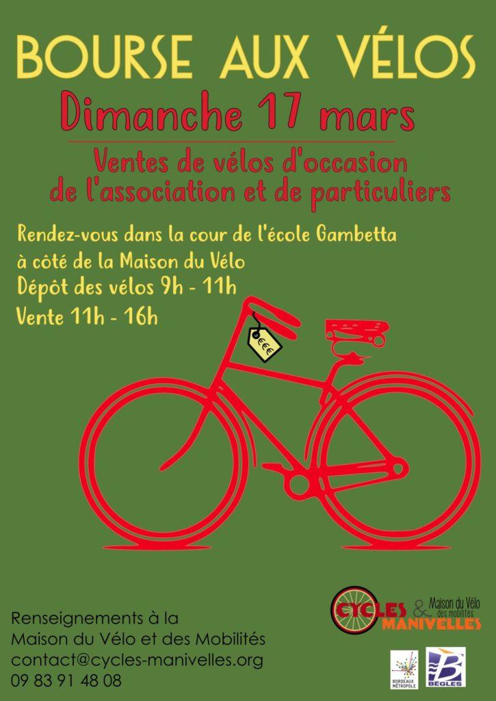 Bourse aux vélos @ Cour de l'école Gambetta