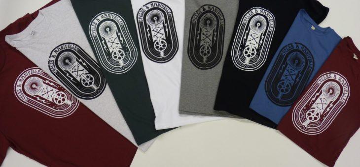 On a fait des nouveaux tee-shirts !