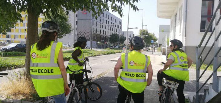 Vélo-école adultes : nouvelle session