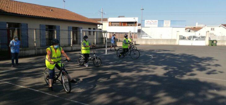 Vélo-école adulte : nouveau stage !