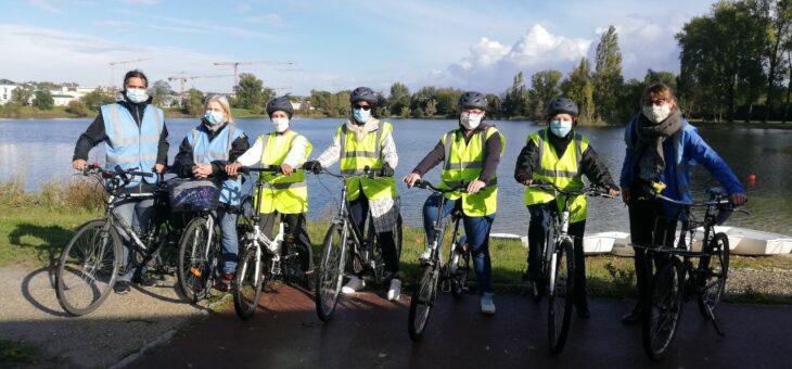Vélo-école adultes, fin de session !