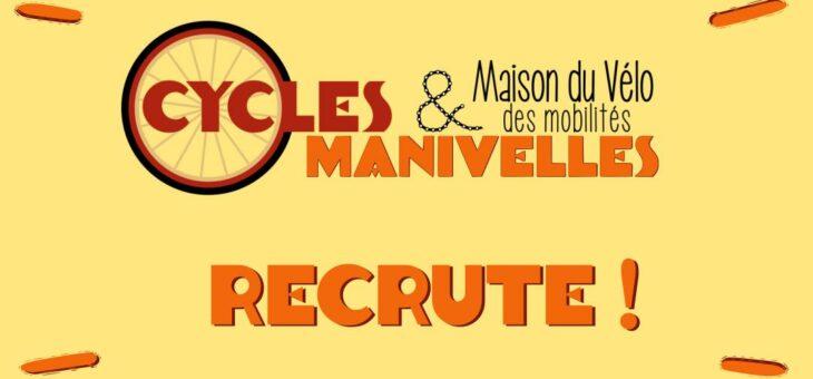 Cycles et Manivelles recrute !